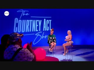 Zara Larsson's interview on The Courtney Act Christmas Show 2018