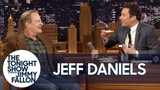 Jeff Daniels Makes Jimmy Eat His Rice Cake, Peanut Butter and BBQ Sauce Diet Snack