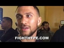 WHOA LOMACHENKO PUTS GERVONTA DAVIS ON NOTICE SAYS HE'LL GO DOWN TO 130 FIGHT WITH HIM FREE