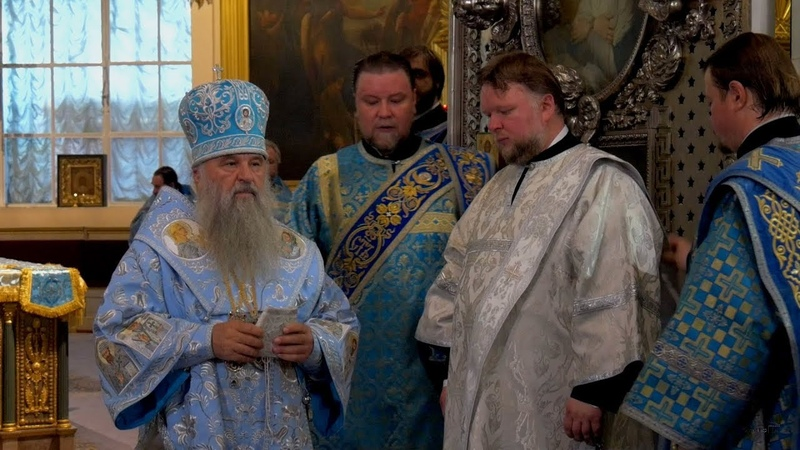 Литургия и диаконская хиротония в Казанском Кафедральном соборе