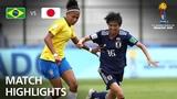 Brazil v Japan - FIFA U-17 Womens World Cup 2018 - Group B