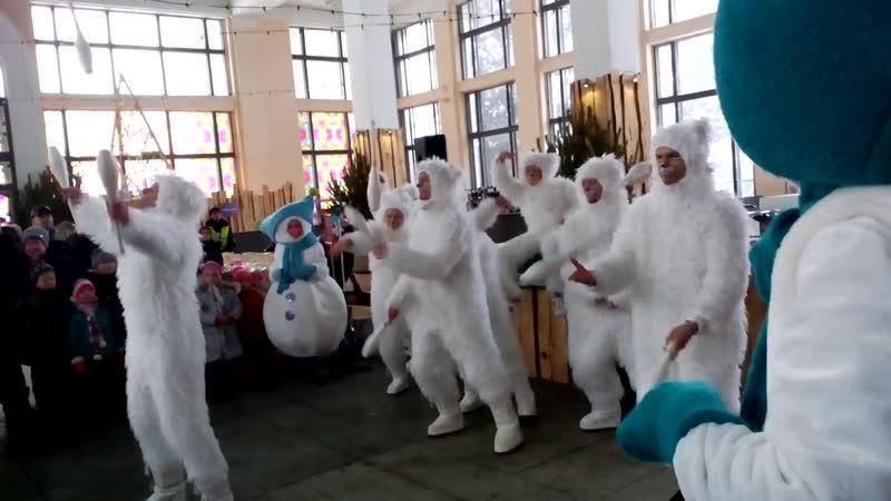 ВДНХ 2016. Зимова Краина. Белые медведи