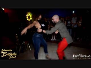 Ataca y La Alemana [Adicto] @ Salamanca Bachata Festival 2018