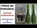 Como fazer garrafa decorada garrafãoo by FláviMartins- Zé Paulo- 106