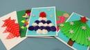 5 крутых открыток на новый год 2019 своими руками Как сделать новогоднюю открытку за 5 минут
