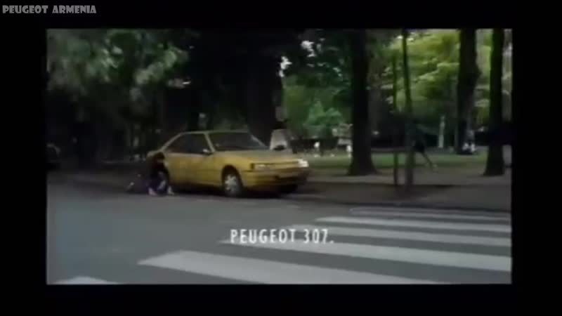 Reklama Peugeot 307 2005 Polska - PEUGEOT ARMENIA - Пежо Армения - Պեժո Հայաստան