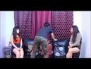 Room 2 Girls 1 Boy part 3 Goddess Kendra footboy - Feet Joi - Pov -