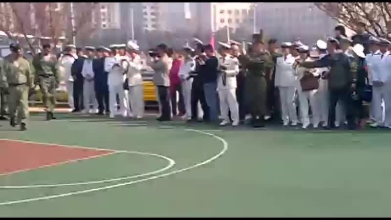 Морпехи ТОФ в Китае