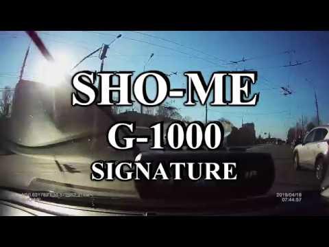 SHO ME G 1000 SIGNATURE Крис в спину на прошивке FW20190416