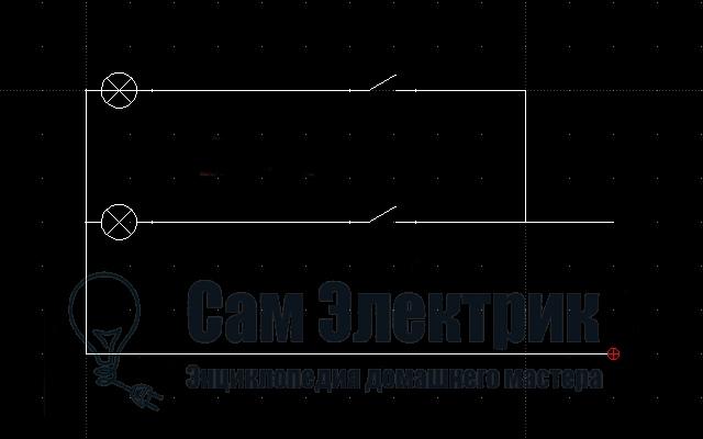 Схема без распределительной коробки 472