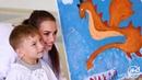Алина Загитова и Детская следж-хоккейная лига. Хоккей - мир ярких красок