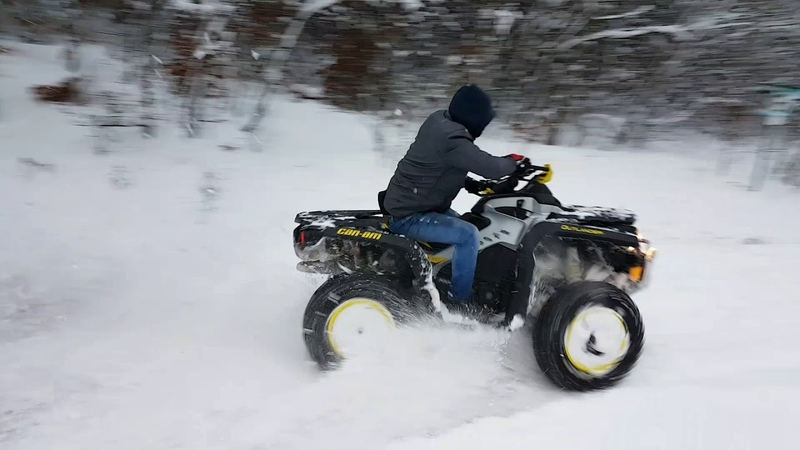 Winter Extreme Can-am Outlander 1000 Xxc
