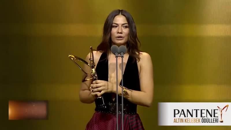 Pantene Altın Kelebek En İyi Romantik Komedi Dizisi Kadın Oyuncu Ödülü Demet Ö
