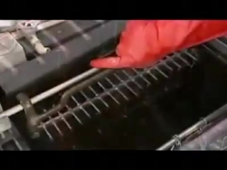 Интересное видео о том как производят блесна Mepps и Williams.