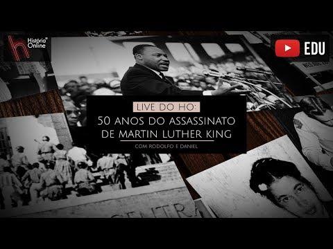 Live: 50 anos do assassinato de Martin Luther King