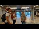 Сергей Широков в аэропорту ,2 планом в кадре
