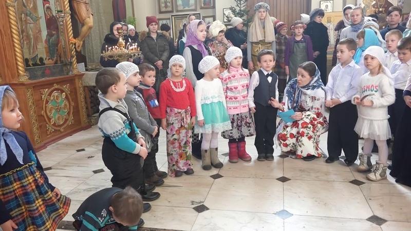 Выступление православной группы дс №2 Березка, г.Арсеньев