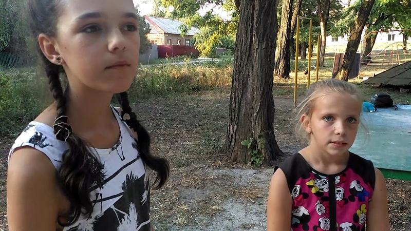 Ветка дерева разрушила беседку в Дружковке