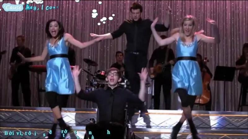 Glee cast- Loser like me