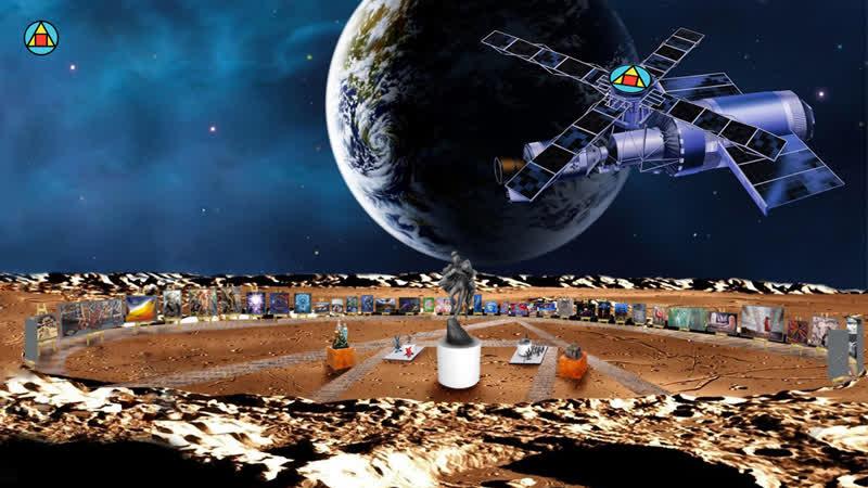 Художественная Выставка на Луне Эхо Земли, Лига Ревнителей Прекрасного