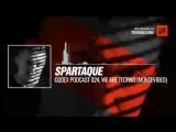 Listen #Techno #music with @Spartaque - Codex 024, We Are Techno (Montevideo, Uruguay) #Periscope