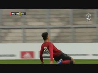 Юношеская УЕФА. Манчестер Юнайтед - Янг Бойз. Гринвуд 2-1
