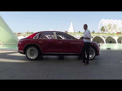 Vision Mercedes-Maybach Ultimate Luxury - Exclusive Test Drive Video Review