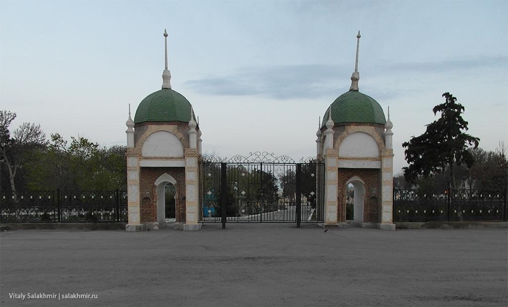 Ворота дворца эмира Бухарского, Каган 2019