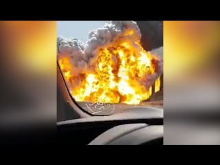 Около аэропорта Болоньи взорвался бензовоз