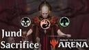 MTG Arena Beta   Jund Sacrifice DeckTeck Gameplay [It's For The]