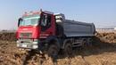 Полноприводные грузовики 8x8 8x6 MAN TATRA IVECO MERCEDES на бездорожье