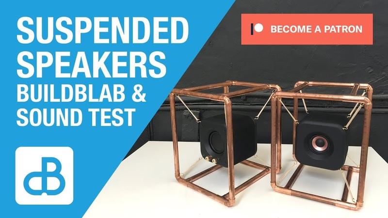 Stereo Suspended Speakers BUILDBLAB SOUND TEST - by SoundBlab