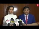Esha Gupta Launches SANITEASE BIO DEGRADABLE PADS