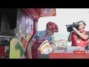 La Vuelta etapa 11 control de firrmas salida Mombuey