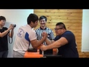 Казах побеждает 37 корейцев подряд по армрестлингу. Удивляет. Корея - 2015