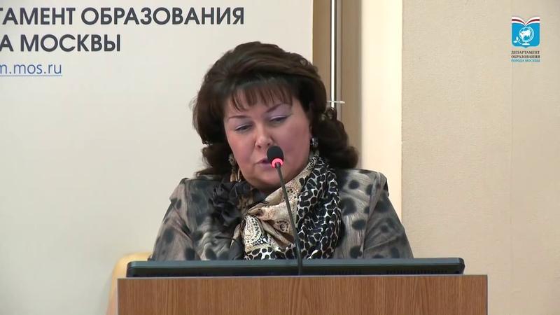 69 школа СЗАО Кислова ГП директор не аттестована ДОгМ 21.04.2015