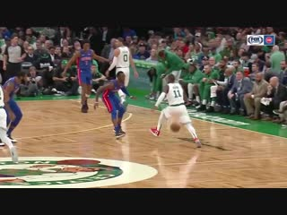 Kyrie Irving Shows Off Handles