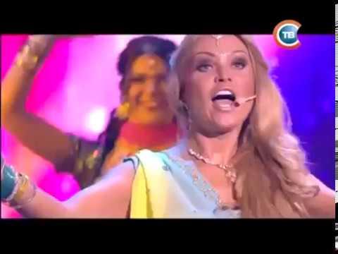 Новый год на СТС Светлана Агарвал, театр танца Гарем шоу и шоу группа CandyMAN ANJANA