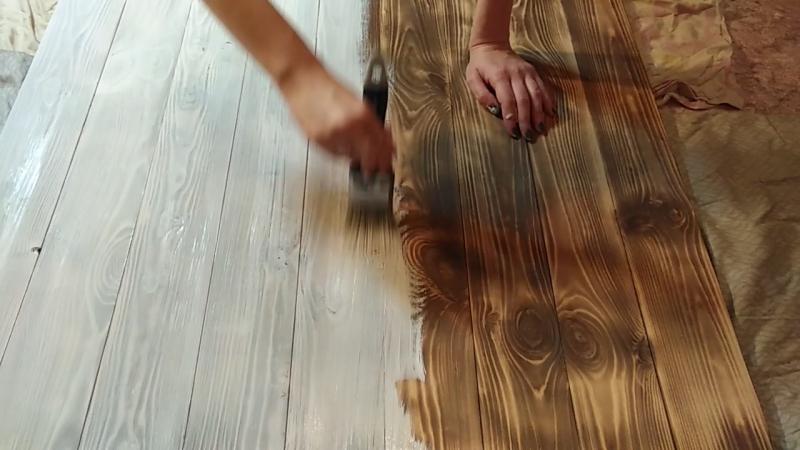 Мебель из массива дерева Самара Окрашивание фотофона