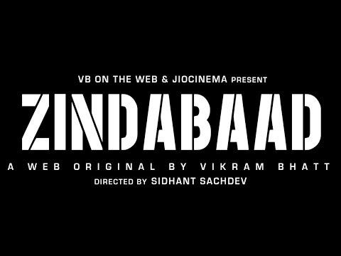 Zindabaad Poster A Web Original By Vikram Bhatt