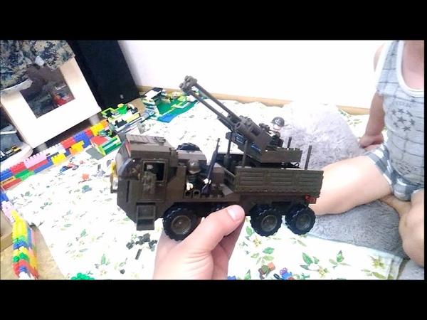 Собираем конструктор LEGO Военная техника