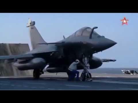 Французские истребители «Рафаль Марин» с авианосца «Шарль де Голль» отправляются бомбить ИГИЛ