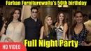 Farhan Furniturewala 50th Birthday Full Night Party Zayed Khan, Sussanne Khan, Juhi Chawla, Dia