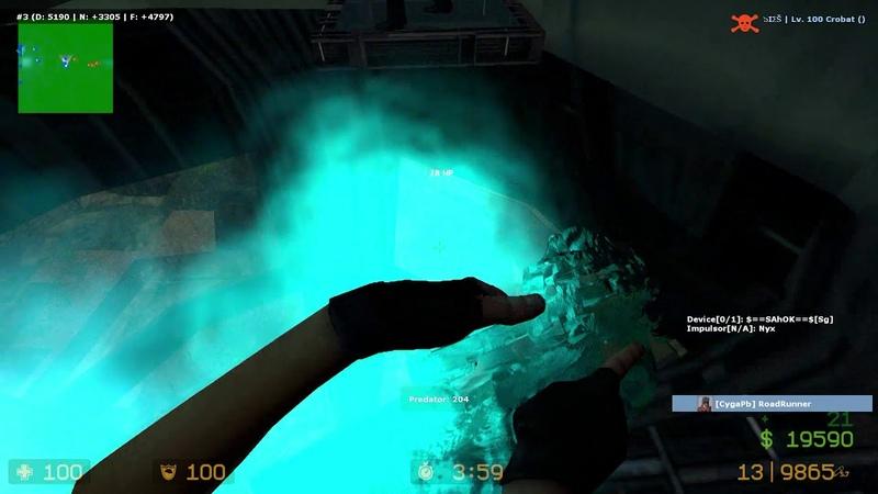 [CS:S Zombie Escape] Predator Team Win