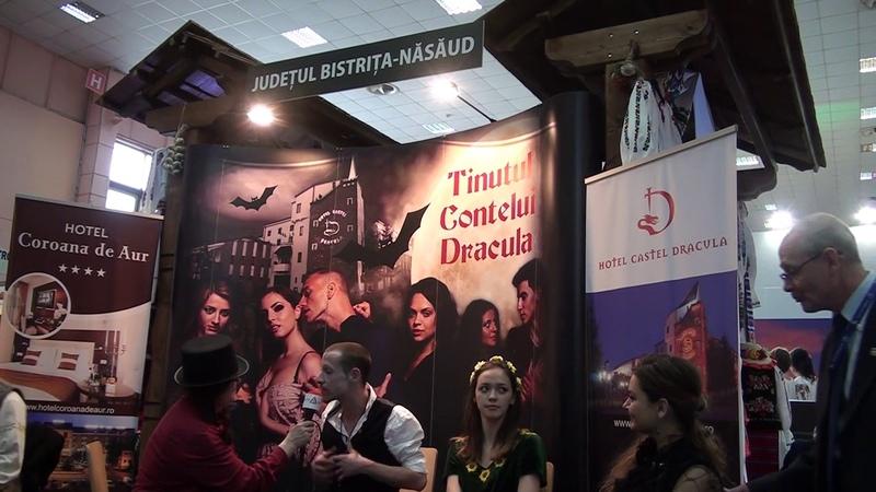 Dracula la Targul de Turism februarie 2017