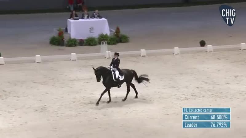 Татьяна Костерина и Дьволесса VA 11 место на CHI Geneve