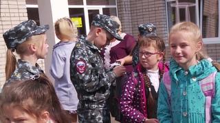 Тысячу брелоков-светоотражателей подарили школьникам Вологды
