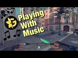 C-Ops Gankstars Players Playing With Music #2
