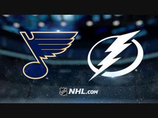 Полный матч: St. Louis Blues vs Tampa Bay Lightning - 8 Февраля , 2019