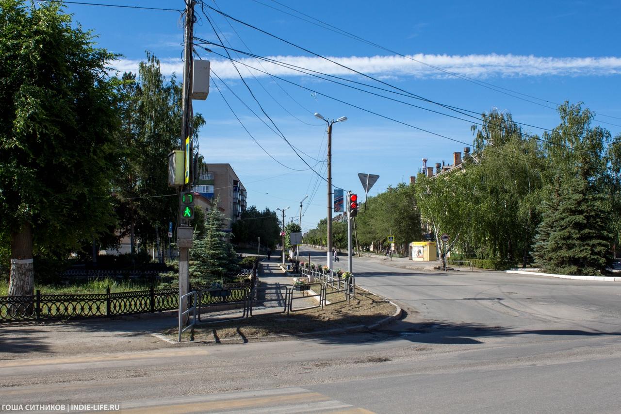 Пешеходный переход Карталы